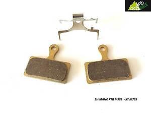 Plaquettes-SHIMANO-XTR-M985-XT-M785-SLX-M666-DEORE-M615-metallic-pads-sport