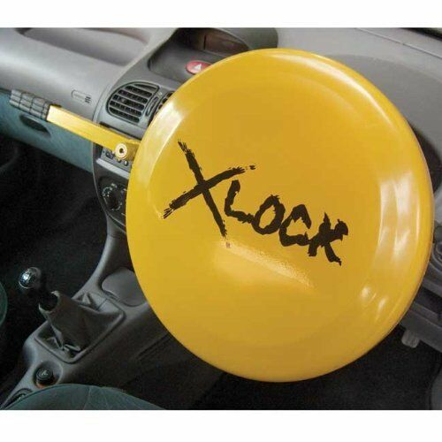 SECURITY LOCK UNIVERSAL FULL STEERING WHEEL X-LOCK FULL DISC COVER van or car