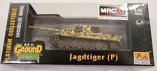 Easy Model MRC 1/72 German Jagdtiger Porsche 305001 Tank Model Built Up 36114