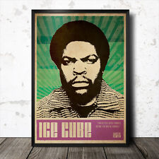 Ice Cube Hip Hop Art Poster Rap Music Tupac Shakur Biggie Smalls Snoop Dogg NWA