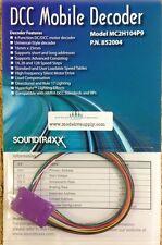 Soundtraxx 852004 MC2H104P9 NMRA 9 Pin JST Decoder AUTH Dealer MODELRRSUPPLY-com