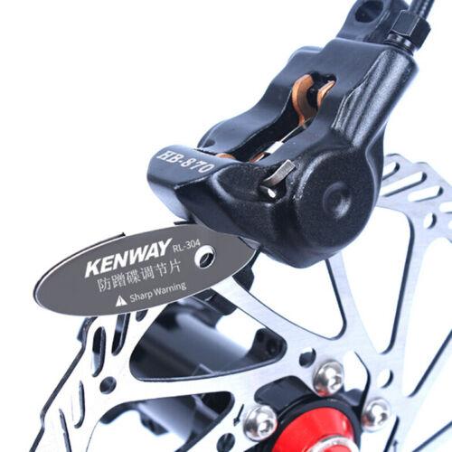 Adjusting Bike Bicycle Disc Brake Pads Spacer Tool Mounting Assistant Rotor HU