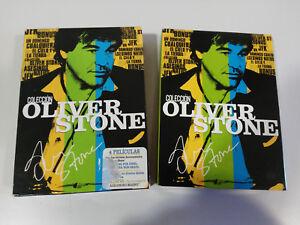 OLIVER-STONE-COLECCION-4-PELICULAS-8-X-DVD-DOCUMENTALES-ESPANOL-ENGLISH