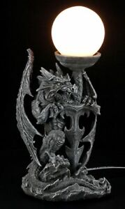 Lampara-Dragon-con-espada-FANTASY-GOTHIC-Iluminacion-Deco-Figura