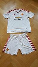 NEU! Adidas Manchester United Trikot XL & Hose L Gast Auswärts Red Devils Weiß