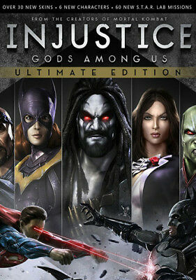 Injustice Gods Among Us Ultimate Edition [Steam Key ...
