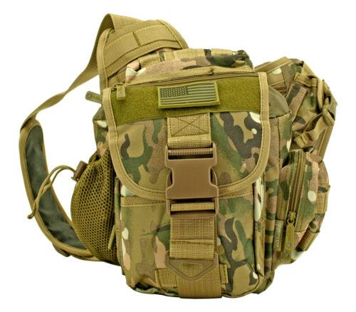 Tactical Camera Messenger Shoulder Bag Military Sling Waist Pack OD MULTICAM DIG