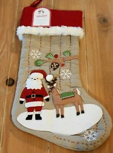New Pottery Barn Kids Woodland Santa Amp Reindeer Christmas