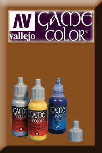 Game Color Bright Bronze 72057 Acrylic Paint Vallejo