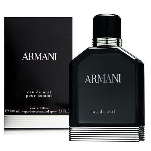 ARMANI EAU DE NUIT GIORGIO ARMANI 100ML EDT MEN NEW SEALED BOX.