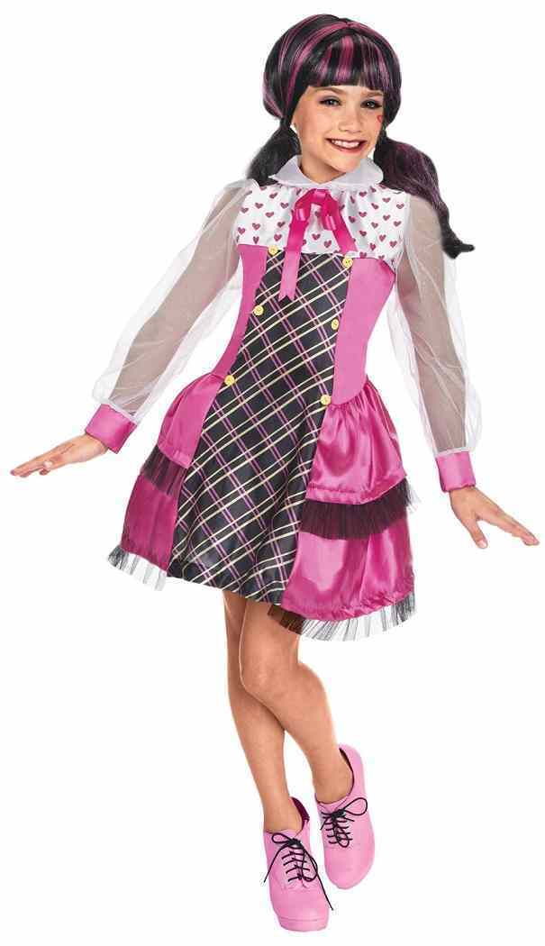 Monster High - Draculaura V&ire Monster High Mattel Nick Fancy Dress Halloween Child Costume  sc 1 st  2016-2018 New Costumes Ideas For Halloween/Birthday/Christmas ... & Monster High Costumes | ? 2016-2018 Halloween/Birthday/Christmas ...