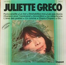 Juliette Greco - Same: 12 TOP-Hits (Impact Vinyl-LP Schallplatte France 1978)