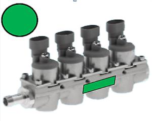 Rail-Complete-Fiat-4-Injectors-Cap-Green-RIG4-VE5
