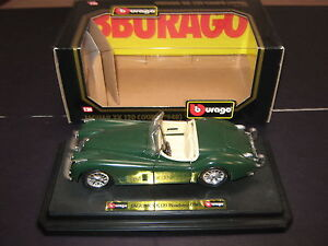 Burago Boxed Mint Model Car  Jaguar XK120 Coupe 1948 cod 1508 Green - Spilsby, Lincolnshire, United Kingdom - Burago Boxed Mint Model Car  Jaguar XK120 Coupe 1948 cod 1508 Green - Spilsby, Lincolnshire, United Kingdom