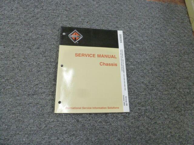 2007 International 3200 4200 4300 4400 Truck Electrical Wiring Diagrams Manual
