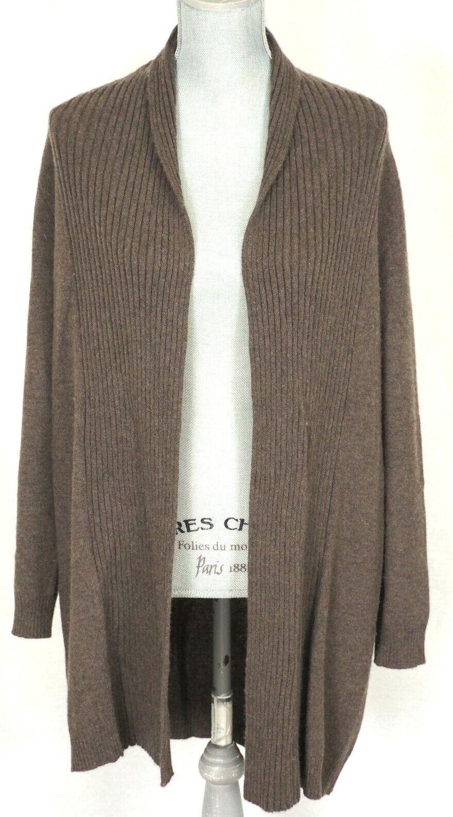 CASHMERE lungo braune ROWLEY CYNTHIA Sweater autodigan