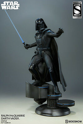 Sideshow Star Wars DARTH VADER RALPH MCQUARRIE Exclusive Statue Figure Sealed