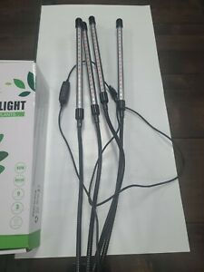 EZORKAS Grow Light, 80W Tri Head Timing 80 LED 9 Dimmable Levels Plant Grow