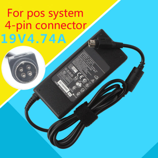 4-Pin AC-DC Adapter Charger For Acbel AD7043 API5AD17 AP15AD17 Vectron POS Power
