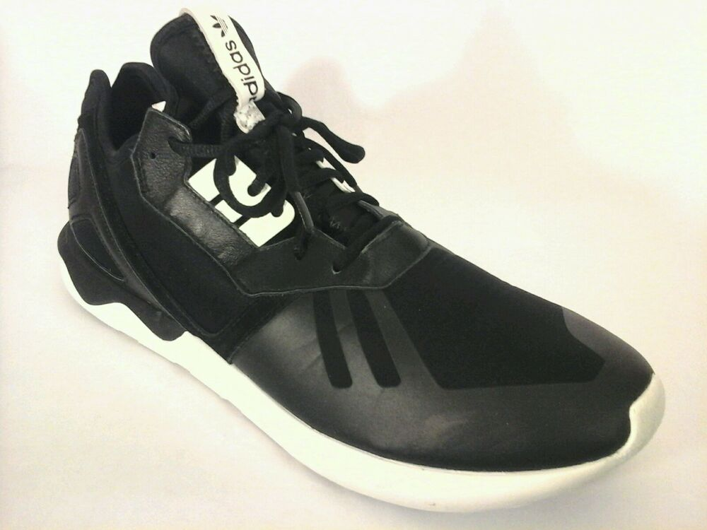 ADIDAS chaussures Tubular courirner noir fonctionnement High Top Sneakers homme US 13 EU 48