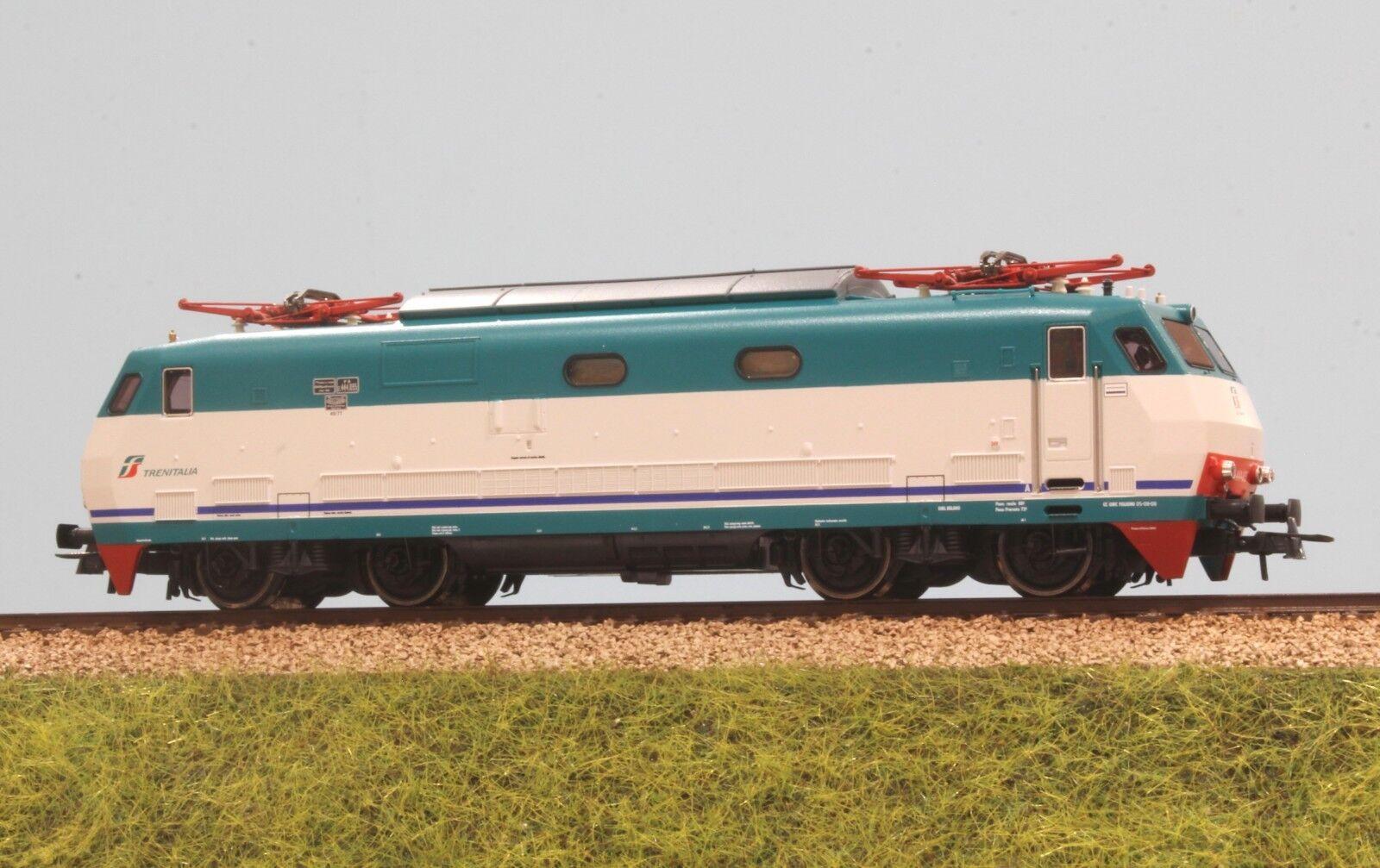 ROCO art.73349 FS locomotiva E 444R 035 livrea XMPR logo tricolore digital sound