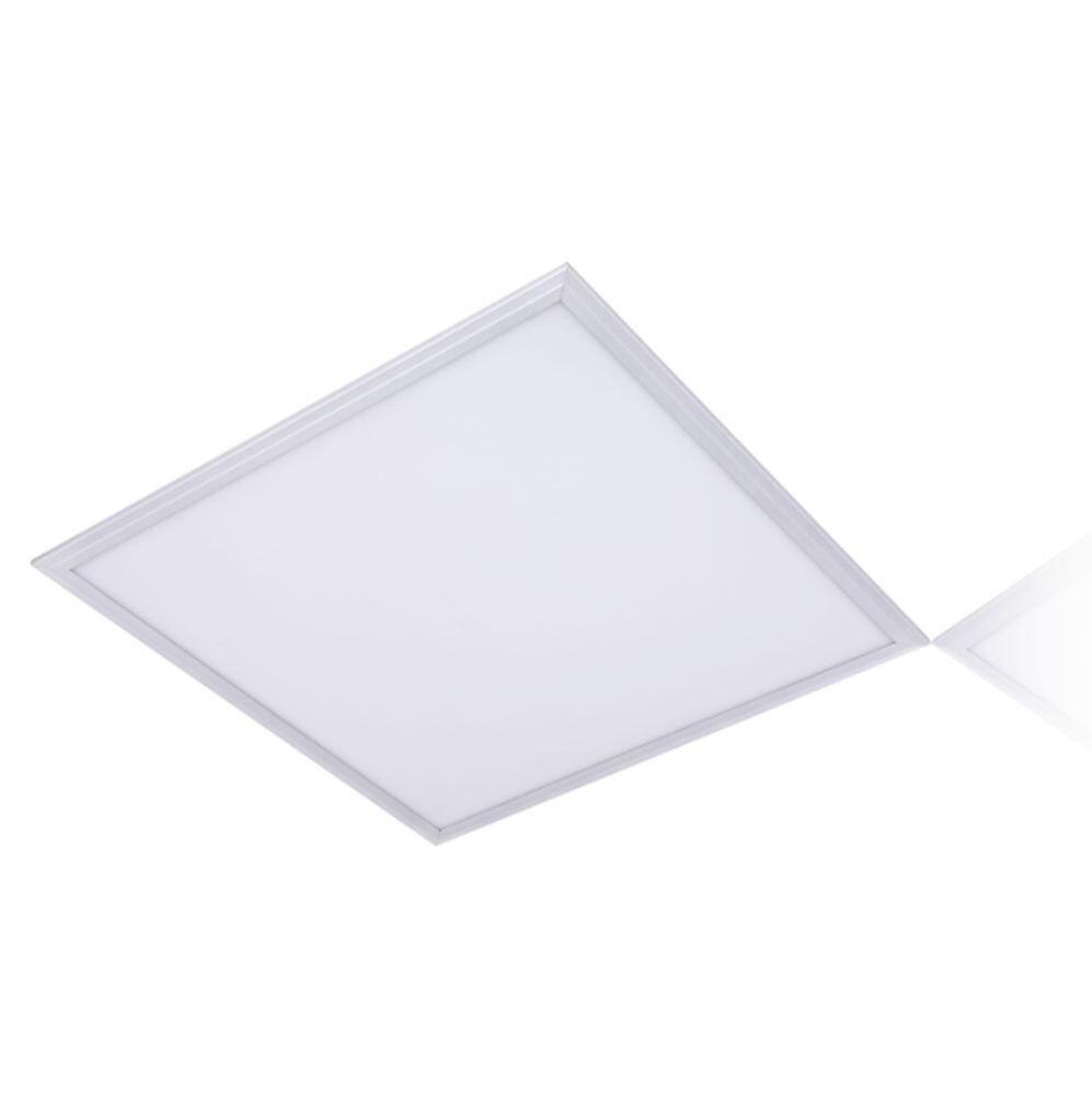 LED Panel 60x60cm 4000k - silber - dimmbar - 3 Jahre Garantie