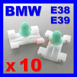 BMW CAR EXTERIOR BODY BUMP STRIP MOLDING LONG STEM TRIM CLIP