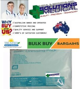 MULTIGATE-STERILE-BASIC-WOUND-DRESSING-PACK-MEDICAL-FIRST-AID-TEAR-PACK