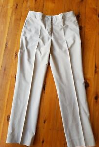 SPORTSCRAFT-Signature-Beige-Stretch-Pants-Size-10