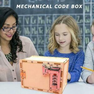 Mechanical-Password-Box-Building-Model-Science-Experiment-Kit-Toy-Education-T4S7