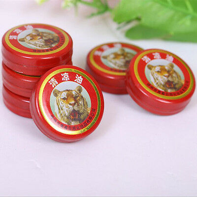 2PC 3g Tiger QingLiangYou Essential Balm/Temple Prevent Heatstroke Refresh 3C