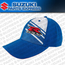 NEW SUZUKI GSXR LINE SNAP BACK HAT CAP BLUE GSX-R 600 750 1000 1100 990A0-17147