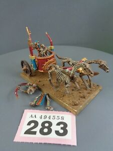 Warhammer Age of Sigmar Tomb Kings Chariot 283 - <span itemprop=availableAtOrFrom>St. Columb, United Kingdom</span> - Returns accepted Most purchases from business sellers are protected by the Consumer Contract Regulations 2013 which give you the right to cancel the purchase within 14 days after the d - St. Columb, United Kingdom