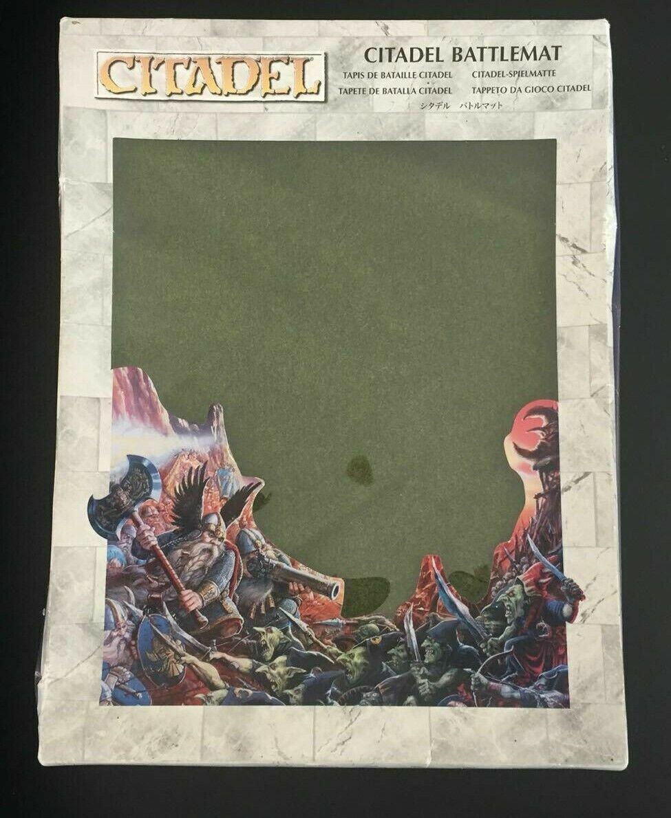 Officiel GW  Citadel herbe Battle Mat bataille mat 6 x 4 warhammer terrain  01  plus vendu