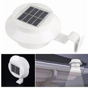 Lampe-Solaire-Etanche-Exterieure-Lumineuse-Blanche-Eclairage-Luminaire-3X-Led
