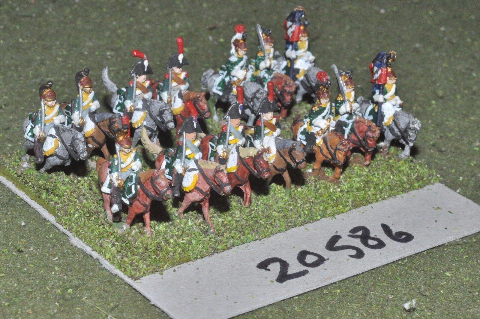 15mm napoleonic   french - cavalry 14 cavalry - cav (20586)