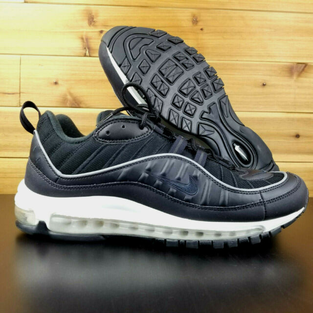 Nike Air Max 98 Men's Shoes Oil Grey Triple Black Lifestyle SNEAKERS 640744 009