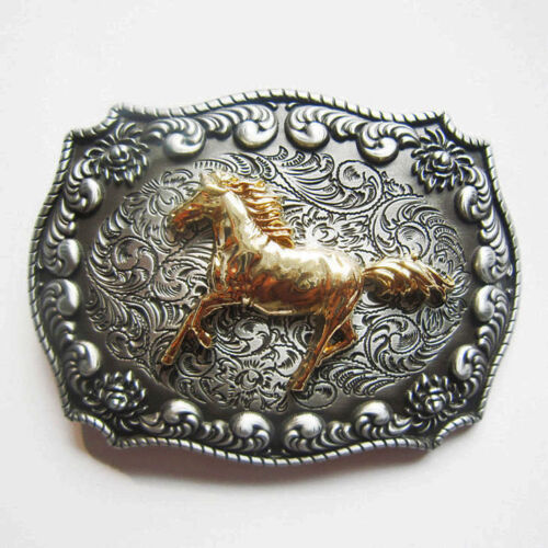Chevaux-Motif Buckle Western Équitation Cowboy Boucle de ceinture JODHPUR Poney 395