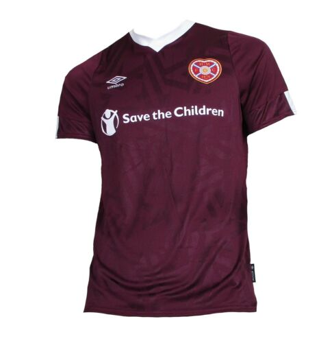 Heart of Midlothian Maillot Home 2019//20 Umbro shirt Scotland Ecosse Hearts