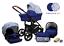 miniatura 11 - TRIO 3in1 OPTIMAL SET CARROZZINA +PASSEGGINO+SEGGIOLINO+ OVETTO BABY