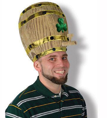 St. Patrick's Day Beer Barrel Hat Beistle 30708 Irish Party Costume 8521