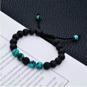 Adjustable-Lava-Rock-Bracelet-Women-Natural-Volcano-Beads-Buddhism-Bracelet-Gift