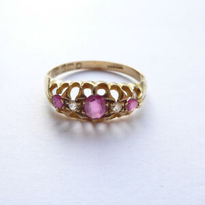 Diamond Ring 18ct Rose Gold Chester