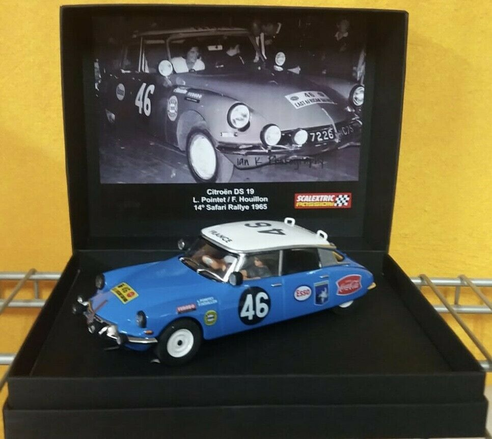 Scalextric Citroën DS19 Scalextricpassion referencia SP033
