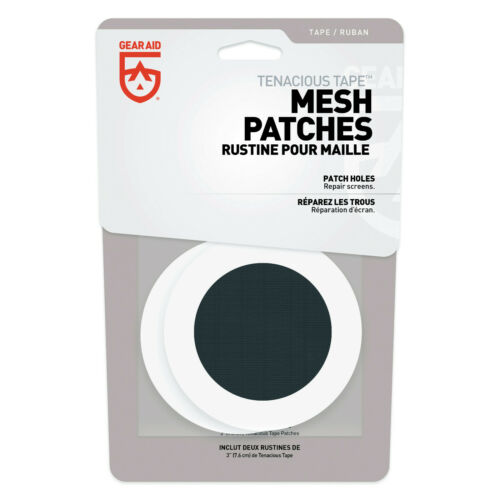 2 parches Gearaid /'Tenacious tape/' dosel reparación