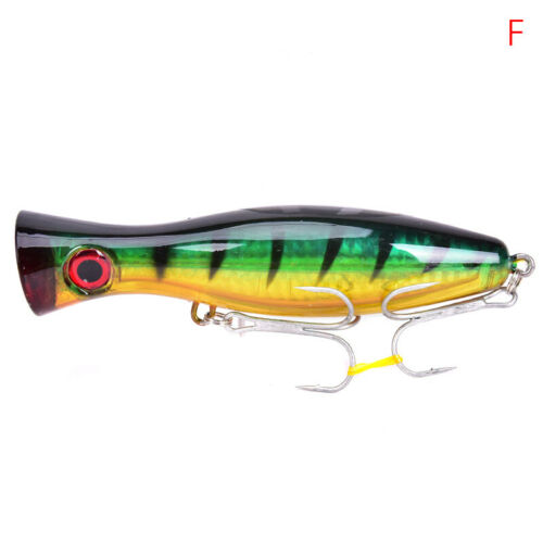 Artificial Popper Fishing Lure Water Crankbait Wobbler Pesca 40g Fishing BaiZ8