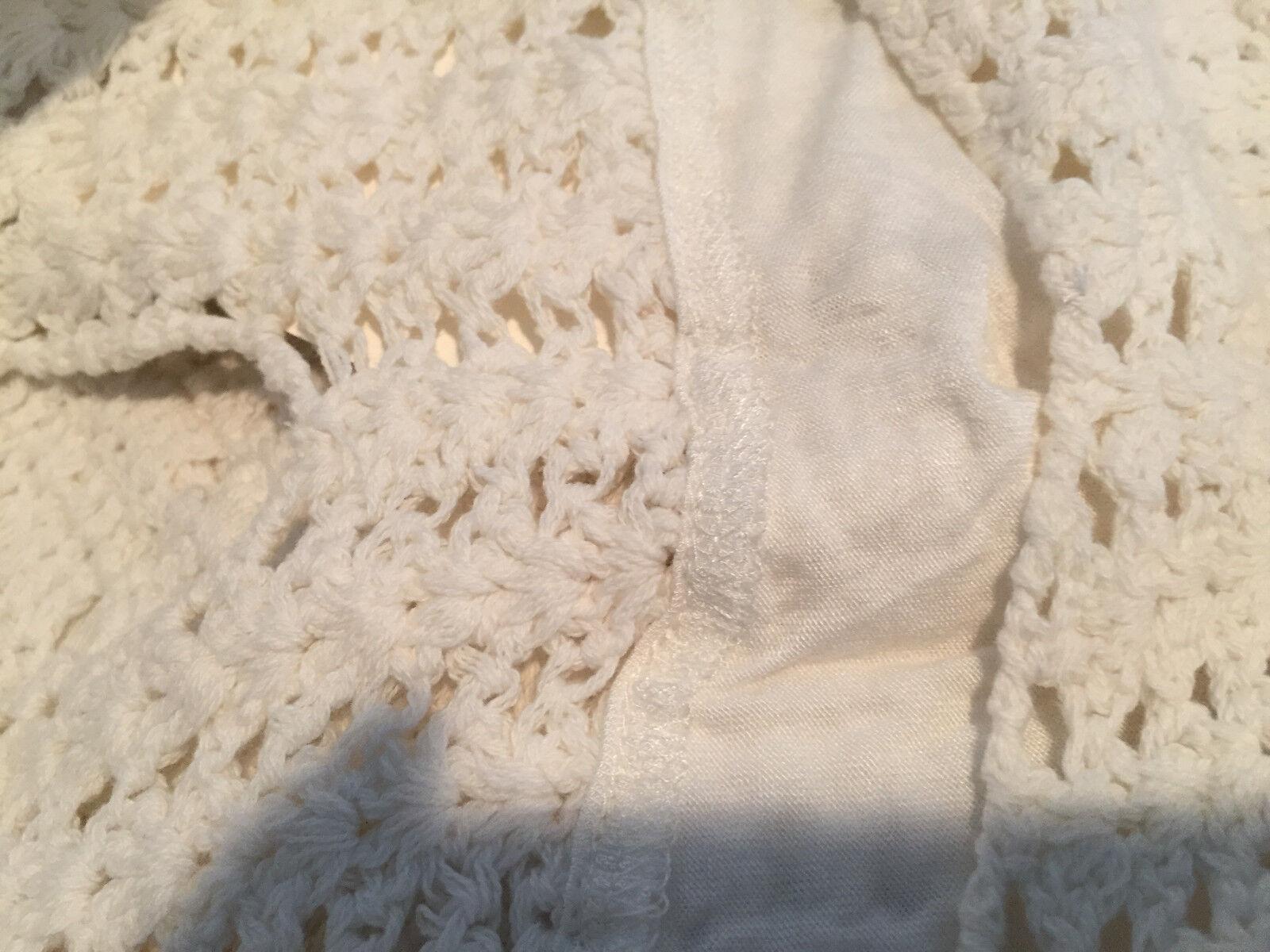 NWT  398 JOIE 'Xael' Crochet Sleeveless Midi Dress, Dress, Dress, Porcelain, Small GORGEOUS 28c3c3