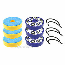 Washable Pre & Post Motor HEPA Filter & Seal Kit for Dyson DC05 DC08 Vacuum x 3