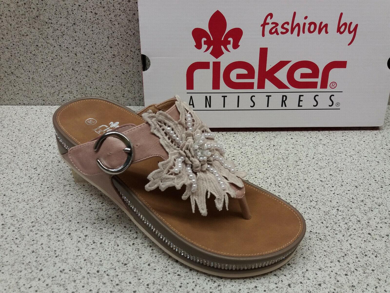 Rieker ® ridotta, Prezzo Top, Sandali, plateau, mode (r528)