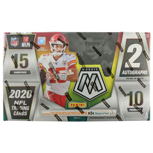 2020 NFL Panini Mosaic Football Factory Sealed Hobby Box NEW